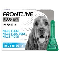 FRONTLINE Plus Flea and Tick Treatment for Medium Dogs big image