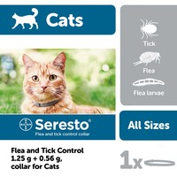 Seresto Flea and Tick Control Collar for Cats big image