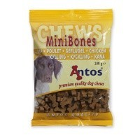 Antos Mini Bones Chicken Dog Treats 200g big image