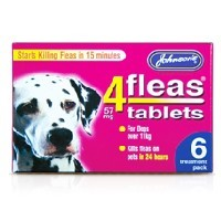 Johnsons 4Fleas Large Dog Tablets big image