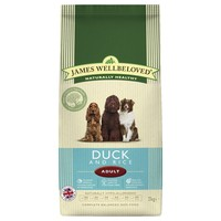 James Wellbeloved Adult Dog Dry Food (Duck & Rice) big image