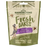 Harringtons Fresh Bakes Delicious Chicken Liver Training Treats 100g big image