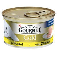 Purina Gourmet Gold Pate Cat Food 12 x 85g Tins (Chicken) big image
