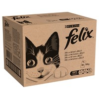 Felix Mixed Selection Adult Cat Food in Jelly Pouches big image
