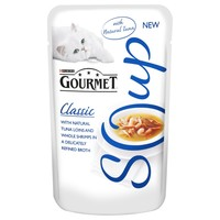 Purina Gourmet Soup with Tuna and Shrimp Pouches (32 x 40g) big image