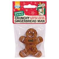 Good Boy Pawsley Christmas Crunchy Gingerbread Man big image