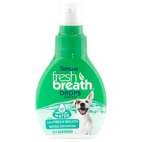 TropiClean Fresh Breath Drops for Dogs big image