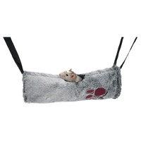 Rosewood 2 in 1 Small Animal Hanging Tunnel and Hammock big image