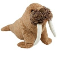 Winston Walrus Squeaking Dog Toy big image