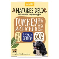 Natures Deli Senior Wet Dog Food Trays (Chicken & Turkey) big image