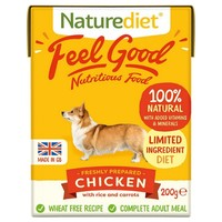 Naturediet Feel Good Wet Food for Adult Dogs (Chicken) big image