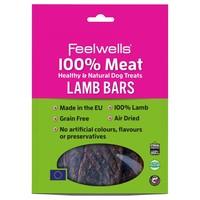 Feelwells 100% Meat Healthy & Natural Dog Treats (Lamb Bars) 100g big image