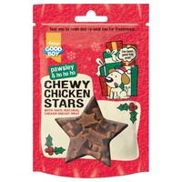 Good Boy Pawsley Christmas Chewy Chicken Stars 65g big image