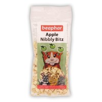 Beaphar Apple Nibbly Bitz Small Animal Treat 30g big image
