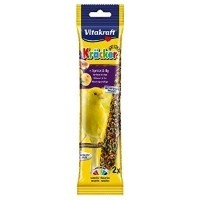 Vitakraft Canary Apricot & Fig Treat Kracker (Pack of 2) big image