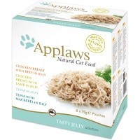 Applaws Adult Cat Food in Jelly 8 x 70g Pouches (Mixed Variety) big image