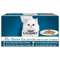 Purina Gourmet Perle Adult Cat Food Pouches (Ocean Collection) big image