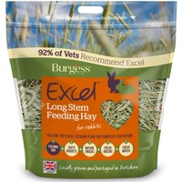 Burgess Excel Long Stem Feeding Hay for Rabbits 1Kg big image
