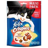 Felix Crispies Cat Treats (Beef and Chicken) big image