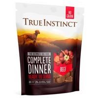 True Instinct Freeze Dried Complete Dinner Dog Food (Beef) big image