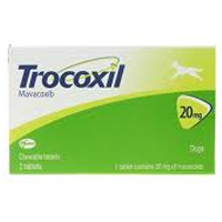 Trocoxil Chewable Tablet For Dogs 20mg Single Tablet