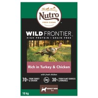 Nutro Wild Frontier Adult Medium Dog Dry Food (Rich in Turkey & Chicken) big image