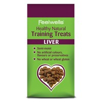 Feelwells Healthy Natural Training Dog Treats (Liver) 115g big image