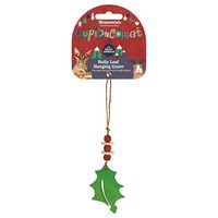 Rosewood Cupid & Comet Holly Leaf Hanging Gnaw for Small Animals big image
