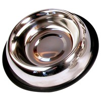 Stainless Steel Non Slip Cat Dish Bowl (6 Inches) big image