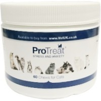 VetUK ProTreat Stress and Anxiety Cat 60 Chews big image