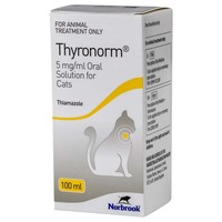 Thyronorm 5mg/ml Oral Solution for Cats big image