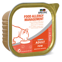 Specific Allergy Management FDW Feline Cat Alutrays big image