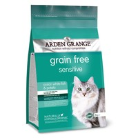 Arden Grange Grain Free Sensitive Adult Cat Dry Food (Ocean White Fish & Potato) big image