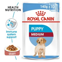 Royal Canin Medium Puppy Wet Dog Food in Gravy big image