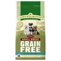 James Wellbeloved Adult Dog Grain Free Small Breed Dry Food (Fish & Vegetables) 1.5kg big image