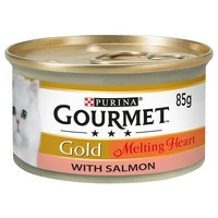 Purina Gourmet Gold Melting Heart Wet Cat Food Tins (12 x 85g) big image