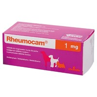 Rheumocam 1mg Chewable Tablets for Dogs big image