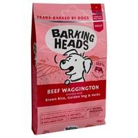 Barking Heads Complete Adult Dry Dog Food (Beef Waggington) 12kg big image