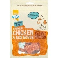 Good Boy Pawsley & Co Crunchy Chicken & Rice Bones 100g big image