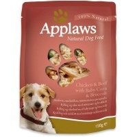 Applaws Adult Dog Food 12 x 150g Pouches (Chicken/Beef/Baby Corn/Broccoli) big image