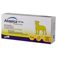 Atopica 25mg Capsules for Dogs big image
