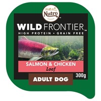 Nutro Wild Frontier Adult Dog Wet Food Tray (Salmon & Chicken) big image