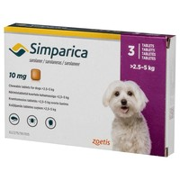 Simparica 10mg Chewable Tablets (Pack of 3) big image
