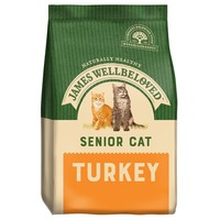 James Wellbeloved Senior Cat Dry Food (Turkey) big image