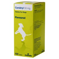 Canidryl 50mg Flavoured Tablets for Dogs big image