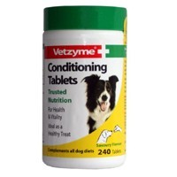 Vetzyme Conditioning Tablets for Dogs big image