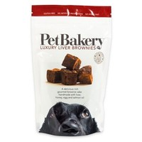 Pet Bakery Luxury Liver Brownies Dog Treats 190g big image