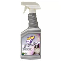 Urine Off Cat & Kitten Odour and Stain Remover Spray 500ml big image