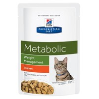 Hills Prescription Diet Metabolic Pouches for Cats big image