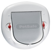 Petsafe Staywell Big Cat / Small Dog 4 Way Pet Door (White) big image